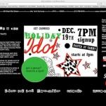 website - holiday idol